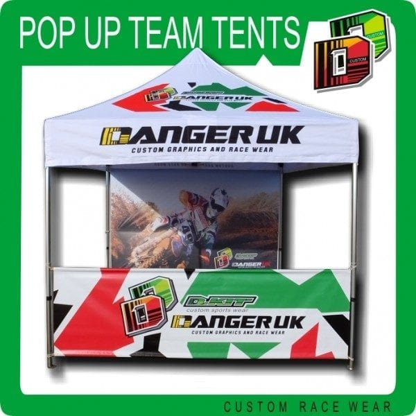 Pop Up Team Tents